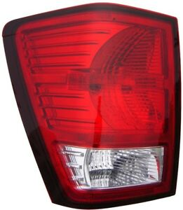 Fits 2007 2009 Jeep Grand Cherokee Driver Left Rear Tail Light Assembly