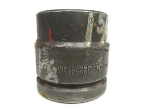 Wright Impact Socket 1 5 8 6 Point 1 1 2 Inch Drive 84826 Free Shipping