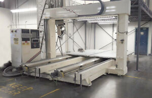 Thermawood 67 5 Axis Twin Table Cnc Machining Center