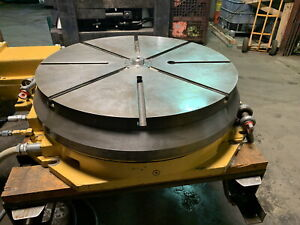 30 Cnc Fanuc Control Rotary Table With Hydraulic Clamping