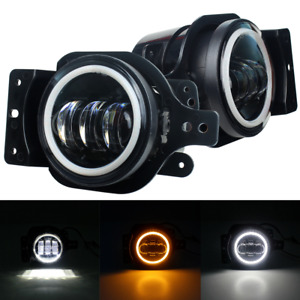 Eagle Lights Halo Jeep Led Fog Light Kit For 18 20 Jeep Wrangler Jl Sport Sports