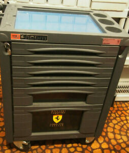 Facom Ferrari Limited Edition Pro Tool Box Chest Roller Cart 1400 Made 3000