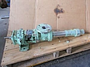 Continental 2cl3 Stainless Progressive Cavity Pump 2cl3 ssf 521951j Used