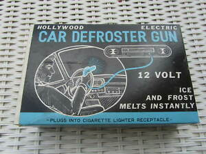 1950s Chevy Mopar Hollywood Car Defroster Gun In Box Accessory New Old Stock