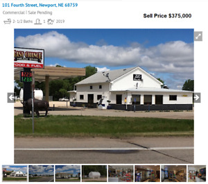 Turnkey Truck Stop Gas Station Full Kitchen Restaurant 5 5 Acres Real Estate