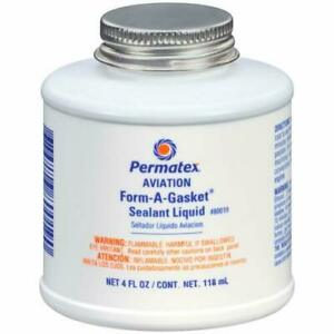 Permatex Aviation Form a gasket 3 4 Oz Bottle 80019