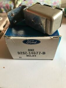 1972 1979 Lincoln And Ford Thunderbird Power Doorlock Window Relay D2sz 14677b
