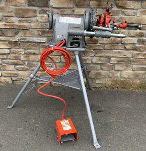 Ridgid 300 Pipe Threader 1 2 2 Rigid 535 700 late Model multiple Sets