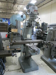 Bridgeport Series 1 2hp Variable Speed Milling Machine W 7 riser X axis Feed