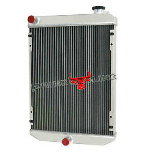 3 Row Aluminum Radiator For Bobcat Excavators 430 430d 435 435d 435g 6679831