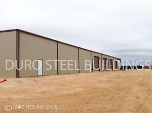 Durobeam Steel 100x140x18 Metal Clear Span I beam Buildings Made To Order Direct