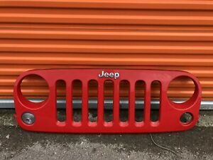 2007 2008 2009 2010 2011 2012 2013 2014 2015 2016 2017 2018 Jeep Wrangler Grille