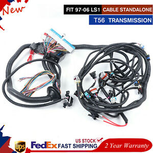 1997 2006 Dbc Ls1 Standalone Wiring Harness W T56 Or Non electric 4 8 5 3 6 0