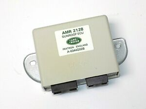 94 04 Land Rover Discovery all Dual Power Sunroof Control Module Ecu Amr2128