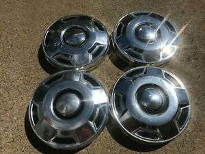 3 1980 And 1990 Ford F 150 Truck Bronco 4x4 Dog Dish Hubcaps