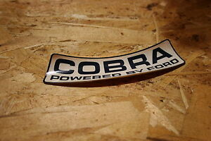 Nos 1967 Shelby Gt 350 Mustang Cobra Air Cleaner Sticker Very Rare