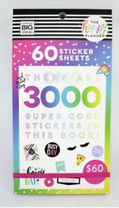 New The Happy Planner 3000 Stickers Mega Book Me My Big Ideas 60 Pages