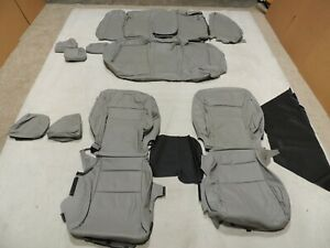 Leather Seat Covers Interior Fits Honda Accord Ex Sport Sedan 2013 2014 Grey Z1