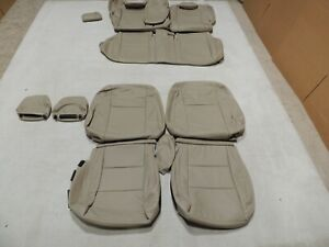 Leather Seat Covers Interior Fits Toyota Corolla Le 2015 2016 Vin 5 Tan Z10