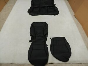 Leather Seat Covers Take offs Fits Honda Accord Coupe 2013 2015 Black Partial Z6