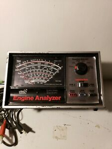 Vintage Sears Solid State Electronic Engine Analyzer Model 161 21423 With Manual