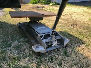 1100 Lbs Hydraulic Transmission Jack T 1450 Lift Pump Loaded Jack Usa Heavy Duty