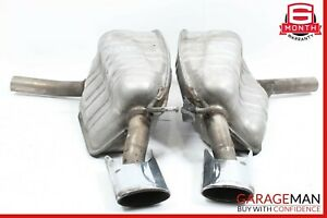 07 09 Mercedes W211 E350 Amg Exhaust Muffler Mufflers Tips Assembly Oem