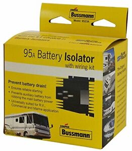 Cooper Bussmann Rb Bi 95a 95 Amp Battery Isolator Replacement Part Universal Fit