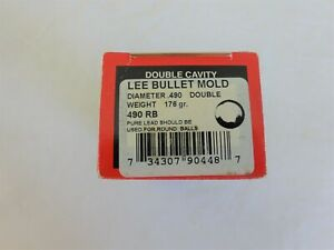 Lee .49 Round Ball Double Bullet Mold Reloading Black Powder 90448 for 50 Cal. $14.85