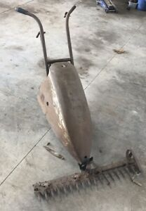 Vintage Walk Behind Jari Sickle Bar Mower 58986