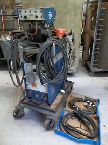 Miller Mig Welder Pc 200 Welds Steel Stainless And Aluminum Plug And Play
