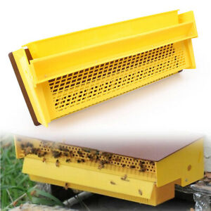 15 35 7 95 3 94 bee Pollen Trap Collector For Beekeeping Tools Beehive Yellow