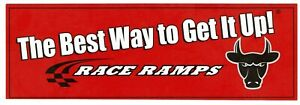 Race Ramps Sticker Decal 6 X 2 The Best Way To Get It Up