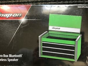 Snap on Tools Micro Box Wireless Bluetooth Speaker Shaped Like A Tool Chest
