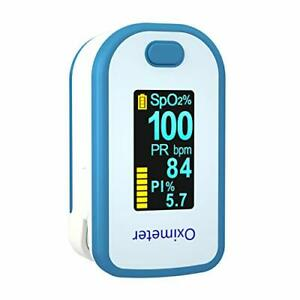 Portable Oximeter With Lanyard Oled Blood Oxygen Saturation Meter