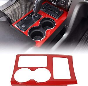 Auto Accessories Gear Panel Decoration Frame Cover Trim For 2009 2014 Ford F150
