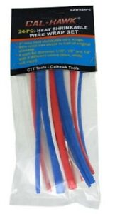 Assorted Sizes Colors Connection Identification Heat Shrink Tubing Wire Wrap Set