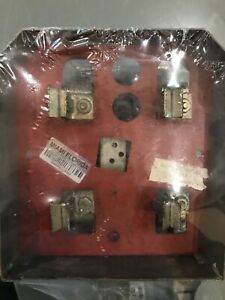Challenger westinghouse sylvania Meter Socket Assembly Perfect Condition