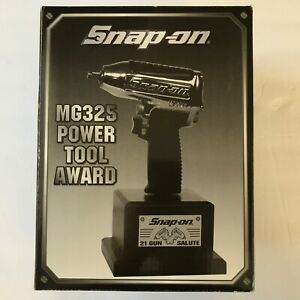 Snap On Tools Mg325 Power Tool Award 21 Gun Salute Trophy