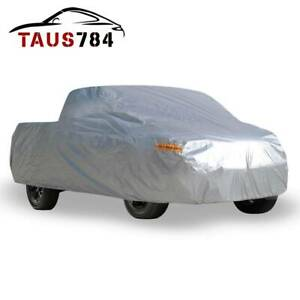 Waterproof All Weather Car Cover For Pickup Truck Dust Uv Hail Snow Protection