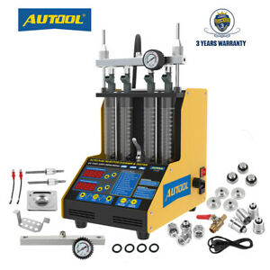 Autool Ct150 Car Fuel Injector Tester Cleaning Machine Ultrasonic Gasoline 110v