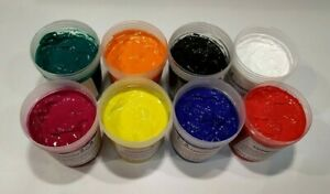 Screen Printing Water Based Ink For T shirt Textiles Fabric Paper And Card