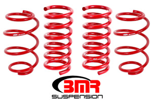 Bmr Suspension Lowering Springs Set Of 4 Minimal Drop For 2015 2018 Ford Mustang
