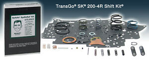 Transgo Sk 200 4r Shift Kit Fits All 2004r 1981 Up