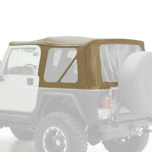 Smittybilt 9970217 Replacement Soft Top Fits 1997 2006 Jeep Wrangler Tj