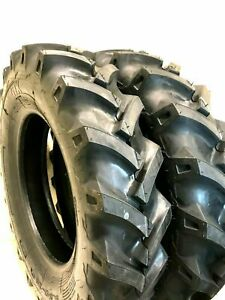 Two 5 12 R 1 Lug Compact Tractor Tires Heavy Duty 6 Ply Rated 5 00 12 K 9