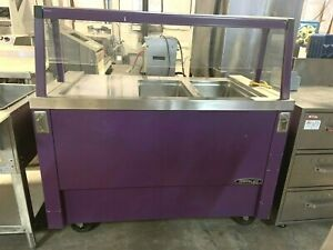 2 Compartment Steam Table Food Holding And Warming Electric