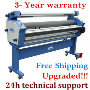 Qomolangma 63in Full auto Heat Asisted Large Format Cold Laminator Machine