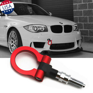 Jdm Sporty Red Cnc Track Racing Aluminum Tow Hook For Bmw 1 3 5 6 X5 X6 Z4 Mini