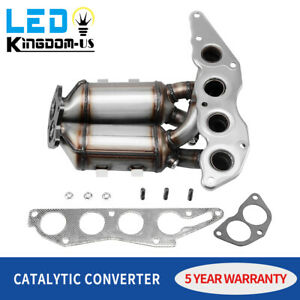 Exhaust Manifold Catalytic Converter For Mitsubishi Galant 2 4l 2004 2005 2012